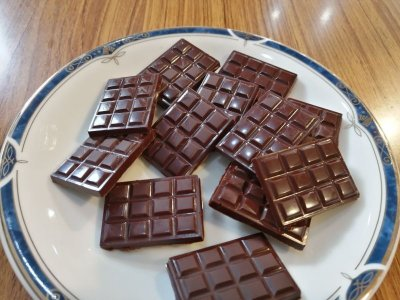 画像2: 【ミル付でお得】おうちセット+推奨ミル付 カカオ生豆ローストからチョコ作り!