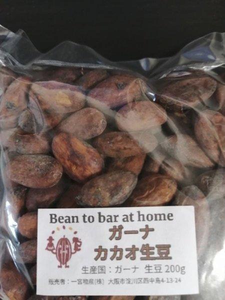 画像1: 【200g】ガーナ産カカオ生豆 (1)